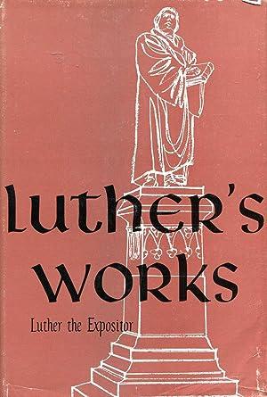 Luther's Works : Companion Volume - Luther: Pelikan, Jaroslav