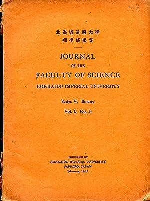 Notes on Some Japanese Algae [Journal of: Yamada, Yukio