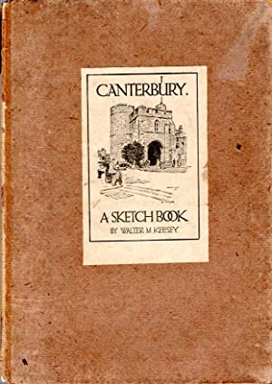 Canterbury - a sketch book: Keesey, Walter M