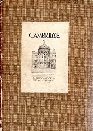 Cambridge - a sketch book: Keesey, Walter M