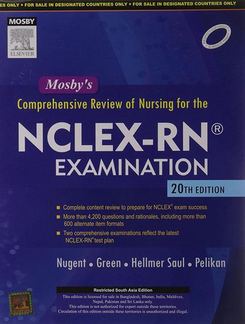 9788131231173 - Nugent: Mosby's Comprehensive Review of Nursing for NCLEX-RN® Examination, 20/e - पुस्तक