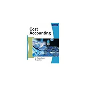 Cost Accounting (EDN 1): Rajasekaran