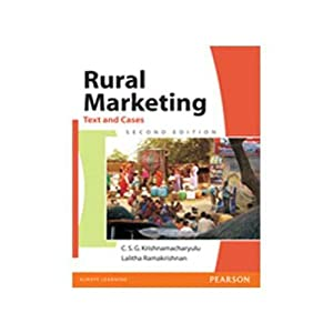 Rural Marketing: Text And Cases (EDN 2): Krishnamacharyulu
