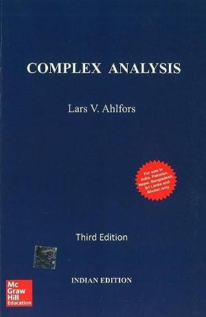 Complex Analysis (EDN 3): Lars V. Ahlfors
