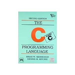 The C Programming Language (EDN 2): Dennis M. Ritchie,