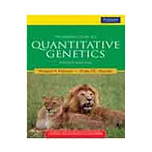 Introduction to quantitative genetics 4th edition