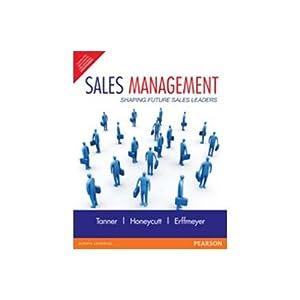 Sales Management (EDN 1): Earl Dwight, Jr.