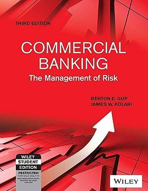 Commercial Banking: The Management of Risk (EDN: James W. Kolari,Donald