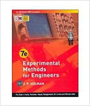 Experimental Methods for Engineers (EDN 7): Jack P. Holman