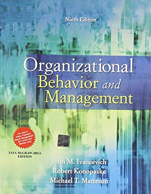 Organizational Behavior and Management (EDN 9): Robert Konopaske,John M.
