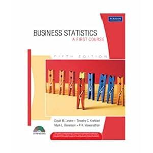 Business Statistics: A First Course (EDN 5): Mark L. Berenson,