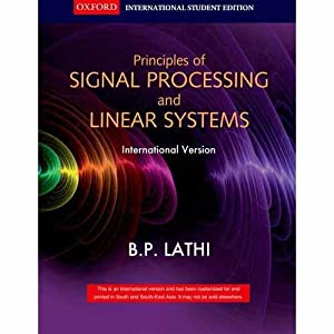 Signal Processing And Linear Systems (EDN 1): B.P. Lathi