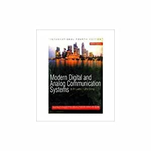 Modern Digital and Analog Communication Systems (EDN: B.P. Lathi,Zhi Ding