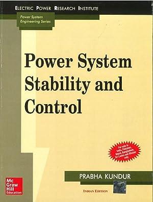 Power System Stability and Control (EDN 1): Prabha Kundur