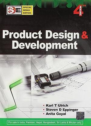 Product Design And Development (EDN 4): Karl Ulrich, Steven