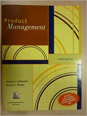 Product Management (EDN 4): Donald R. Lehmann,