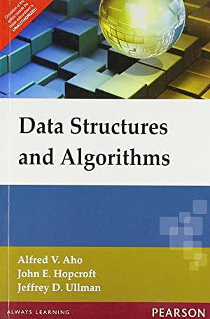 Data Structures and Algorithms (EDN 1): Alfred V. Aho,Jeffrey