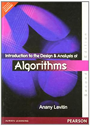 Introduction to the Design and Analysis of: Anany V. Levitin
