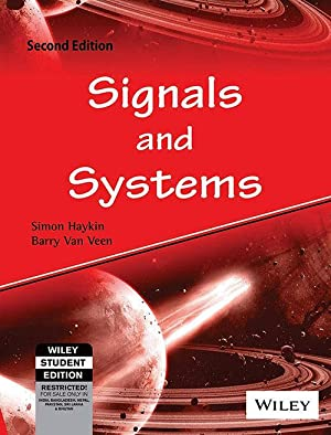Signals And Systems (EDN 2): Simon S. Haykin,