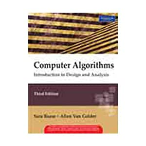 Computer Algorithms: Introduction to Design and Analysis: Sara Baase,Allen Van