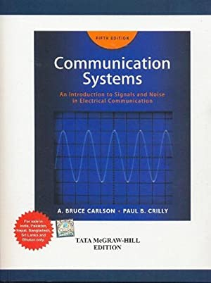 Communication Systems (EDN 5): Janet Rutledge, A.