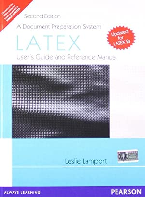 Latex: A Document Preparation System (EDN 1): Leslie Lamport