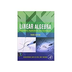 Linear Algebra : Algorithms, Applications (EDN 3): Gabriel B Costa,