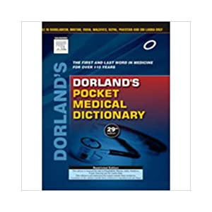 Dorland's Pocket Medical Dictionary (EDN 29): Dorland