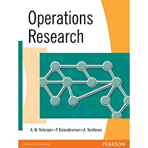 Operations Research (EDN 1): A.M. Natarajan