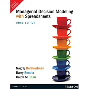 Managerial Decision Modeling With Spread (EDN 3): Nagraj Balakrishnan