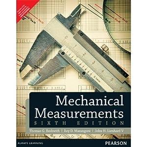 Mechanical Measurements (EDN 6): Thomas G. Beckwith,