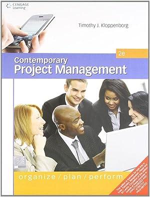 Contemporary Project Management: Organize, Plan, Perform (EDN: Kloppenberg