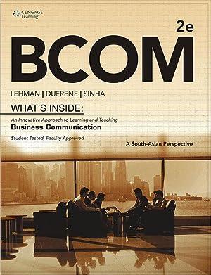 BCOM (EDN 2): Lehman/ Dufrene/ Sinha
