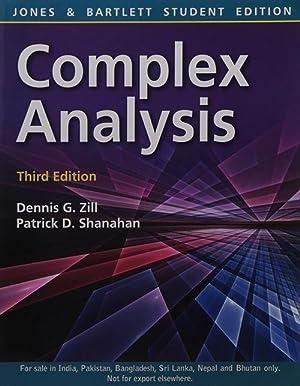 Complex Analysis (EDN 3): Dennis G. Zill,