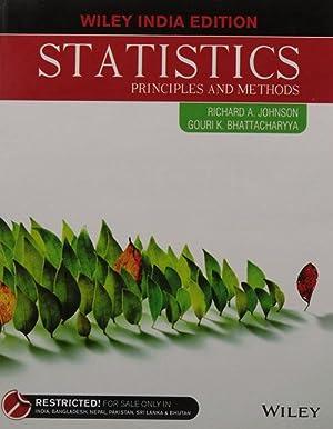 Statistics: Principles and Methods (EDN 1): Richard A. Johnson