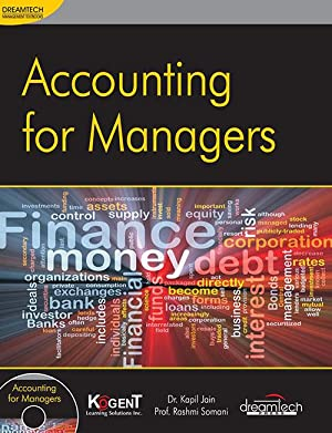 Accounting for Managers (EDN 1): Dr. Kapil Jain