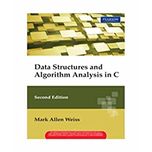 Data Structures And Algorithm Analysis In C: Weiss