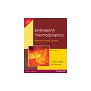 Engineering Thermodynamics (EDN 4): Rogers