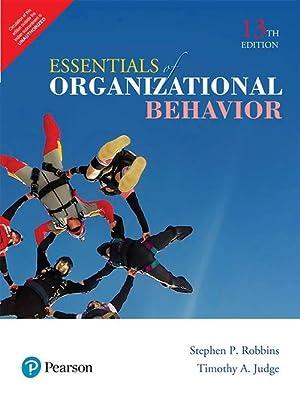 Organizational behavior by stephen p robbins abebooks essentials of organizational behavior edn 13 stephen p robbins fandeluxe Choice Image