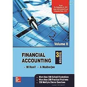 Financial Accounting - Vol. 2 (EDN 3): M Hanif ,