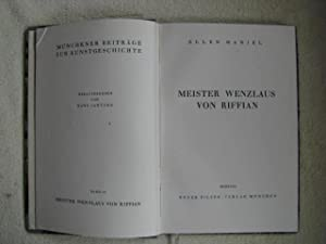 Meister Wenzlaus von Riffian.: Haniel, Ellen
