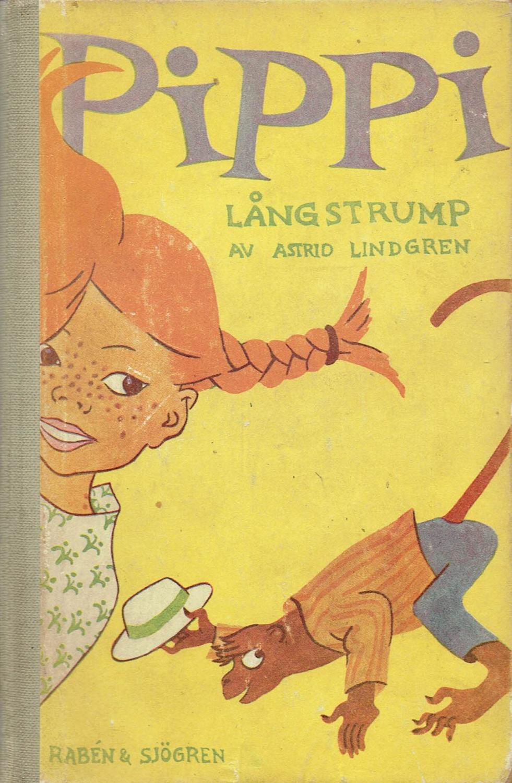 Risultati immagini per pippi langstrump first edition 1945