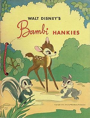 WALT DISNEY'S BAMBI HANKIES: Disney, Walt