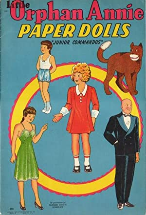 "LITTLE ORPHAN ANNIE PAPER DOLLS - ""JUNIOR: Anonymous"