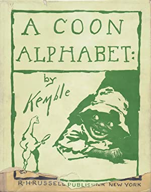 A COON ALPHABET: Kemble, E. W.