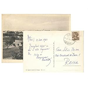 Postcard from Bertoletti to Perina