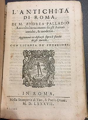 Le cose Meravigliose dell'alma città di Roma;: Various Authors