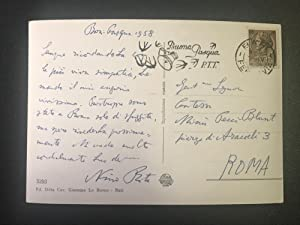 Letter from Nino Rota to Countess Pecci Blunt