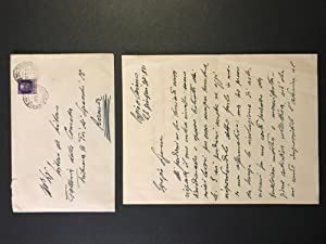 Letter from Ardengo Soffici to Libero De Libero