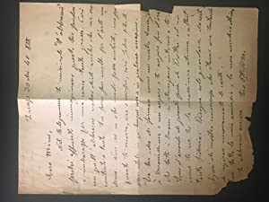 Letter from Ottone Rosai to Mino Maccari